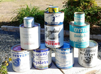 Oyster Cans
